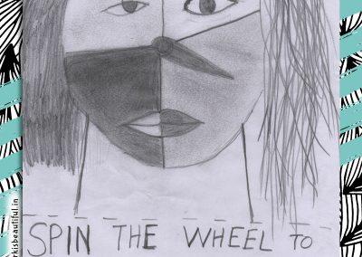 high school doodle contest winner