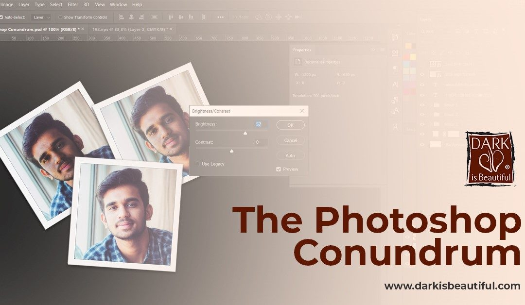 The Photoshop Conundrum