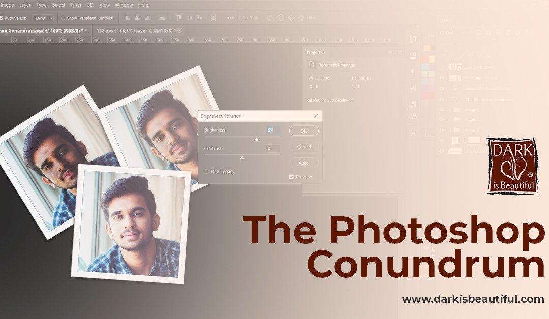 The Photoshop Conundrum